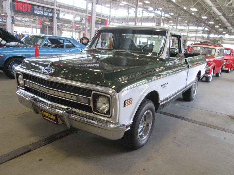 1969 Chevrolet C10 1 2 Ton Values