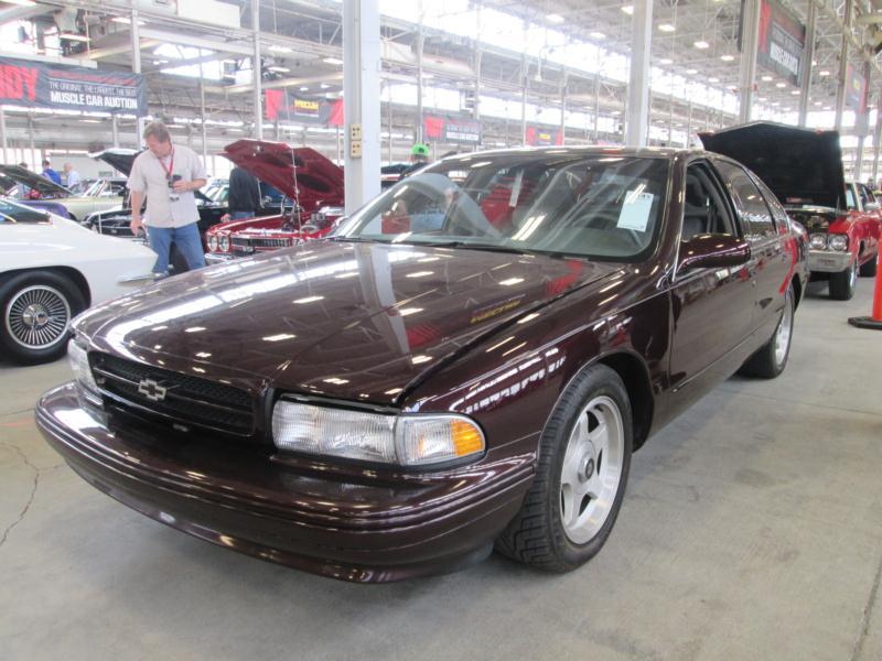 1995 Chevrolet Impala SS Values | Hagerty Valuation Tool®