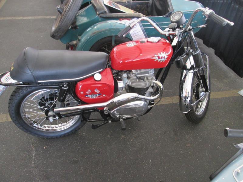 1967 BSA A65H Hornet Motorcycle