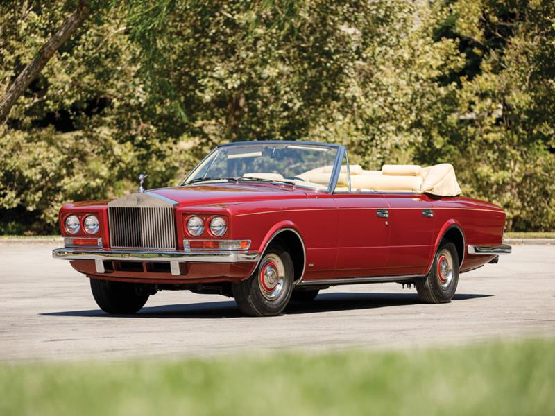 1971 Rolls Royce Phantom VI All Weather Cabriolet Courtesy RM Sothebys