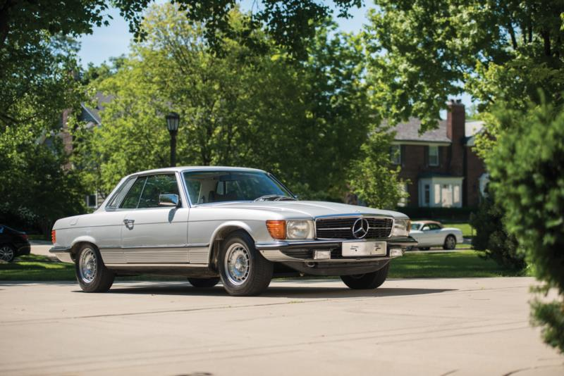 1973 mercedes benz 450slc values hagerty valuation tool for Value car motor city