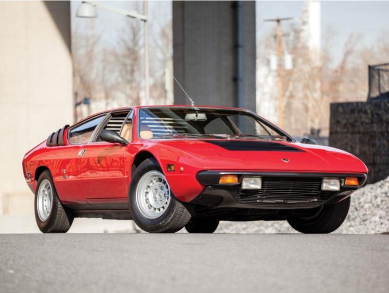 Lamborghini Urraco P Coupe Image Courtesy Rm Sothebys