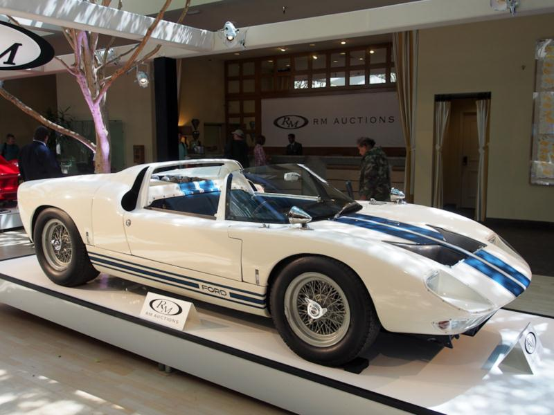 1965 ford gt40 prototype roadster