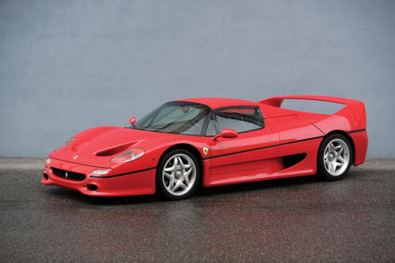1995 ferrari f50 values hagerty valuation tool. Black Bedroom Furniture Sets. Home Design Ideas