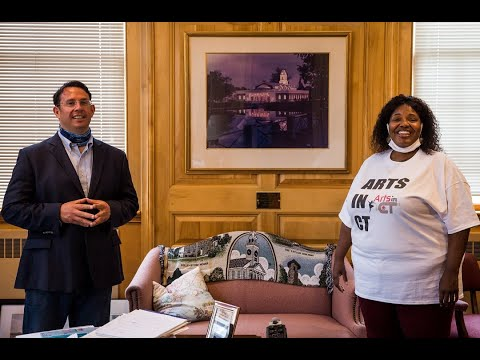 Minute with the Mayor - Arts in CT