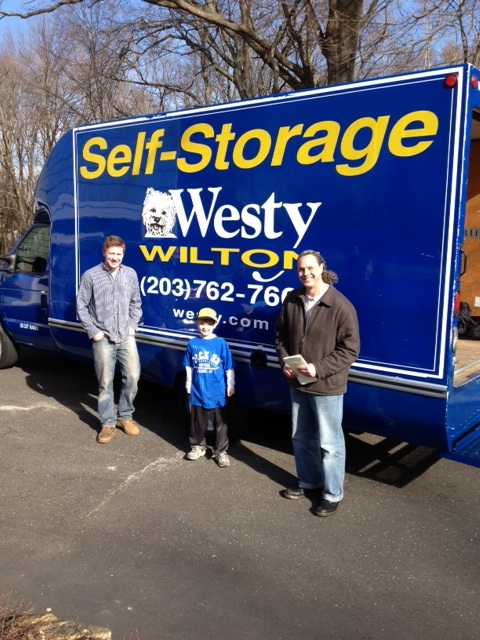 ... Thanks Members Ken And Will For Delivering Furniture To Our Local  Neighbors In Need On Saturday, February 2. Also A Great Big Thanks To Westyu0027s  Storage ...