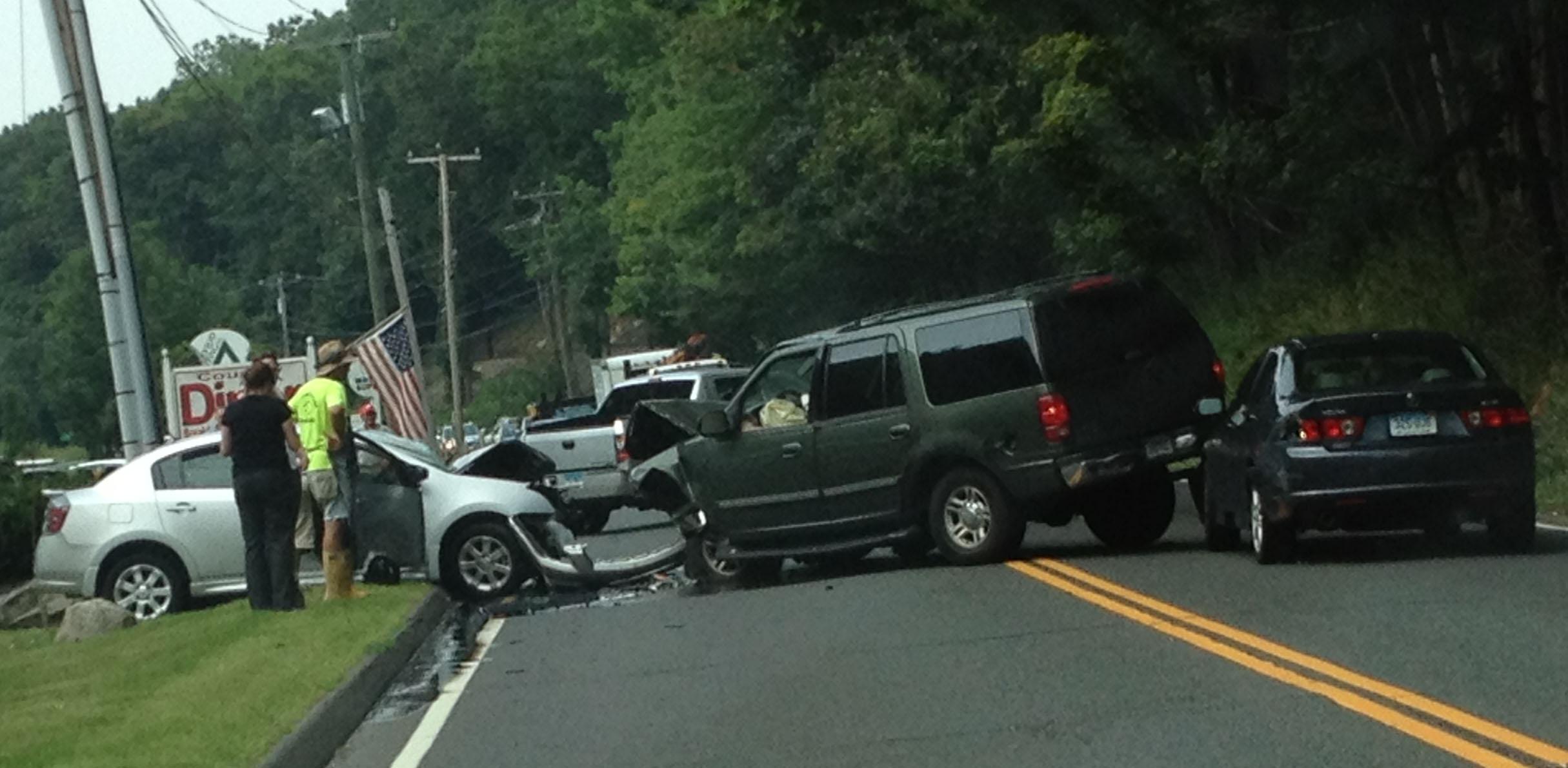 Car Crash Redding Ct