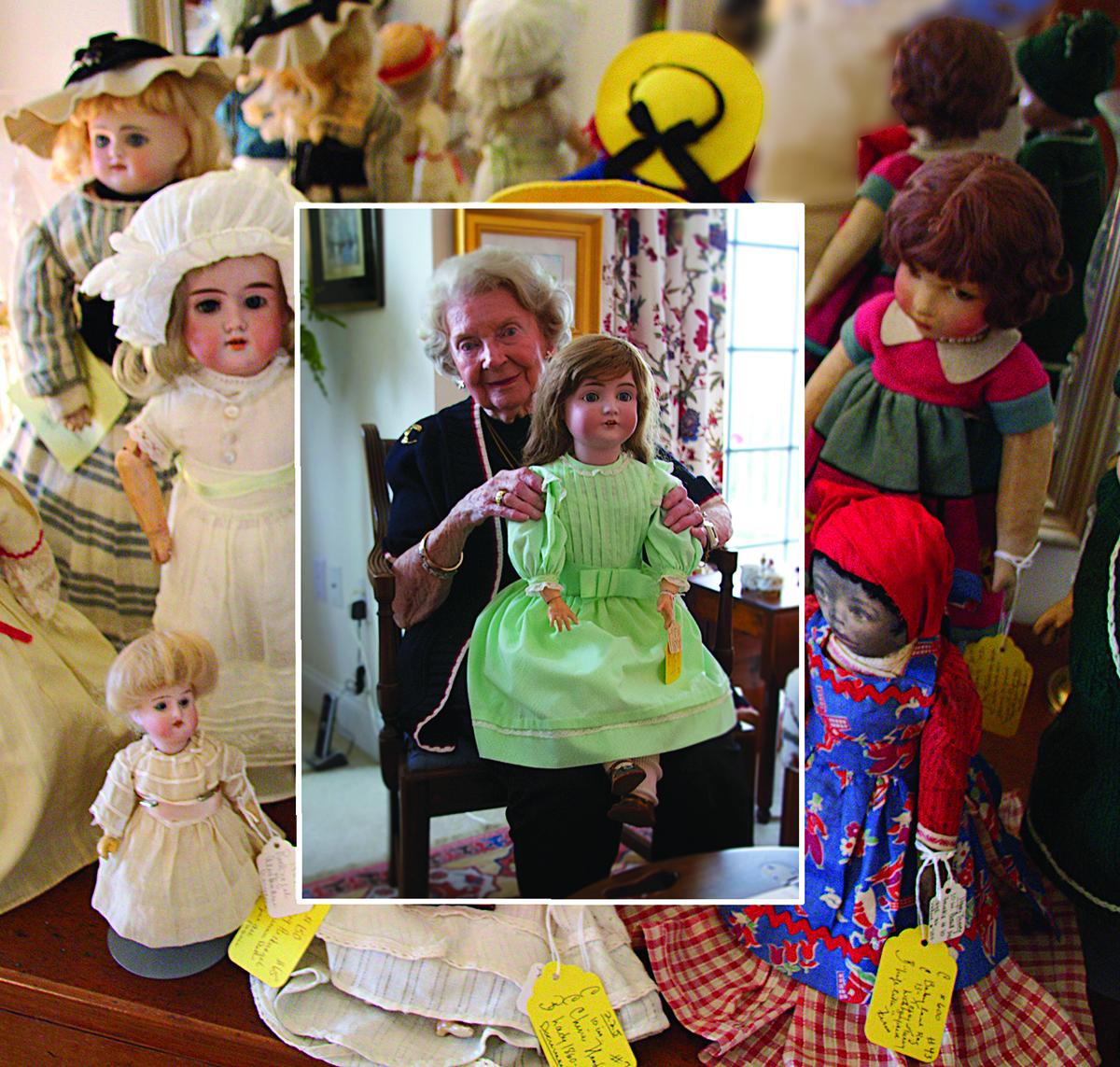 Ms.Baker  Her World of Dolls
