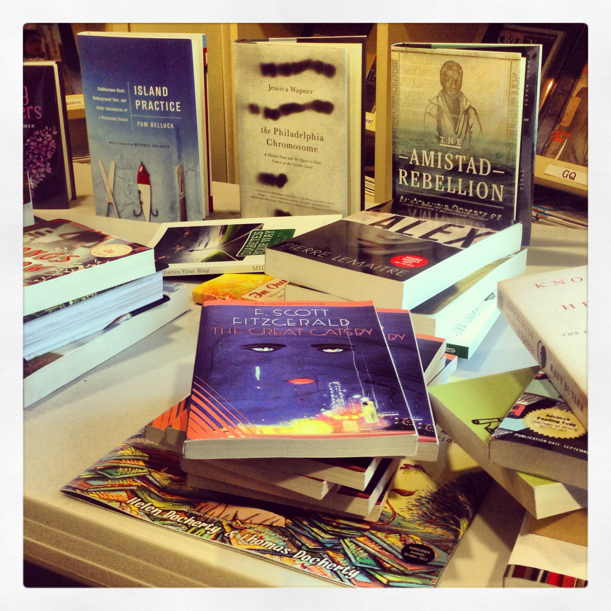 WPL Book Table