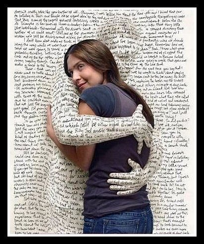art es anna hugging book