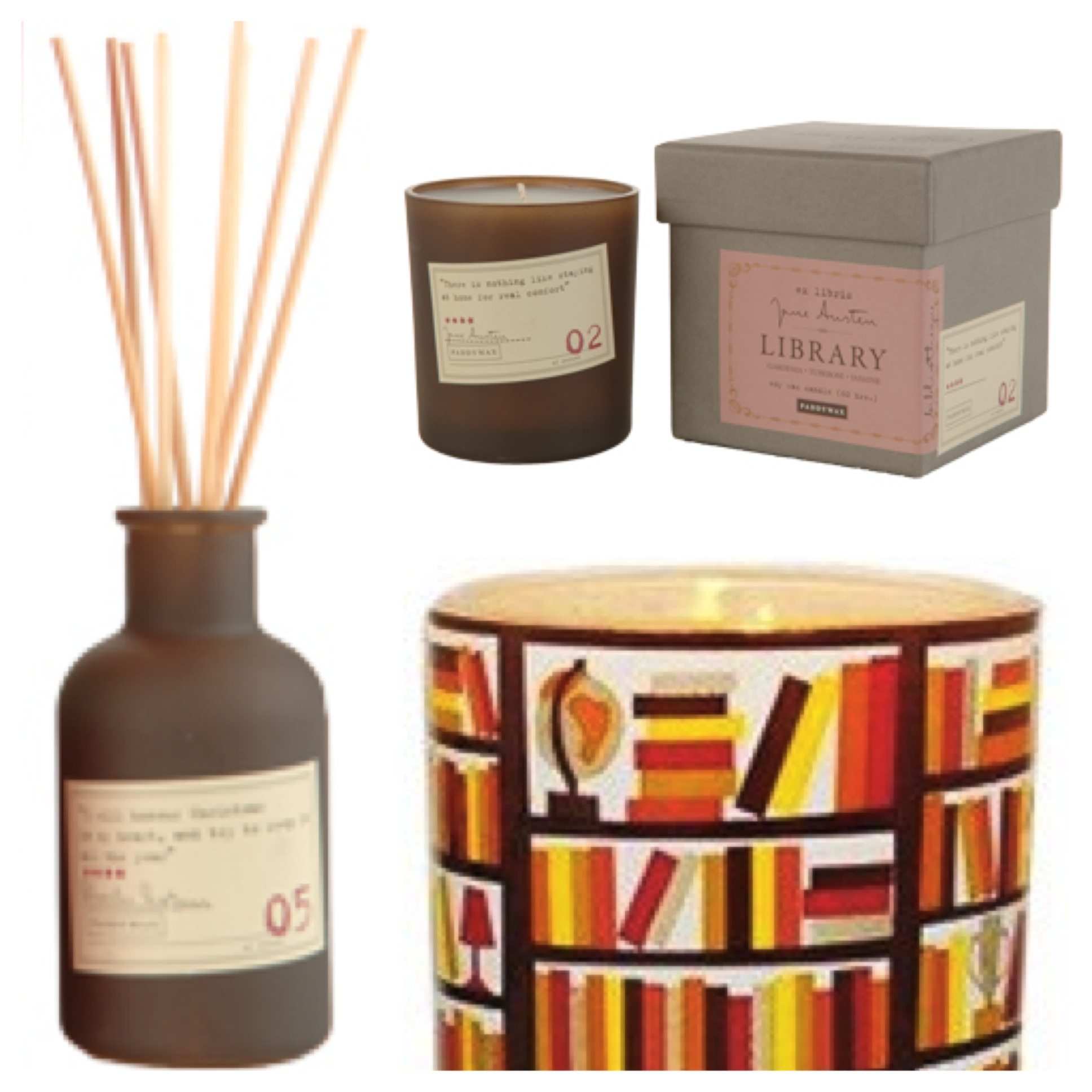 Cool Bookish Accessories Candles That Smell Like Books Authors