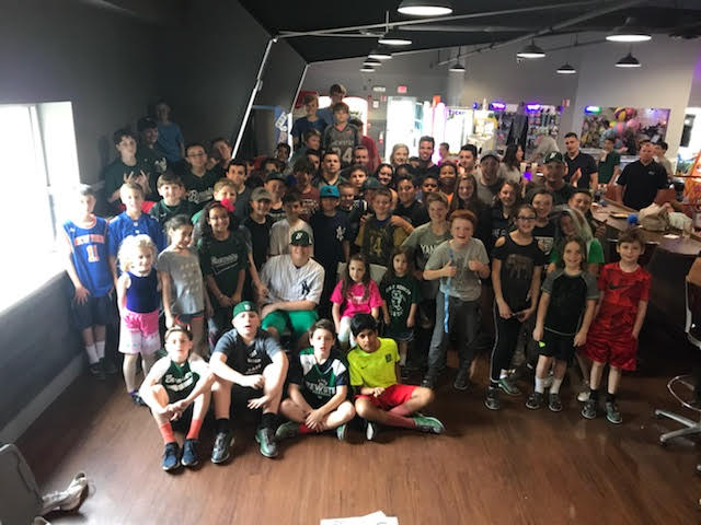 Over 70 community members joined Zach and team to raise money for the American Cancer Society.
