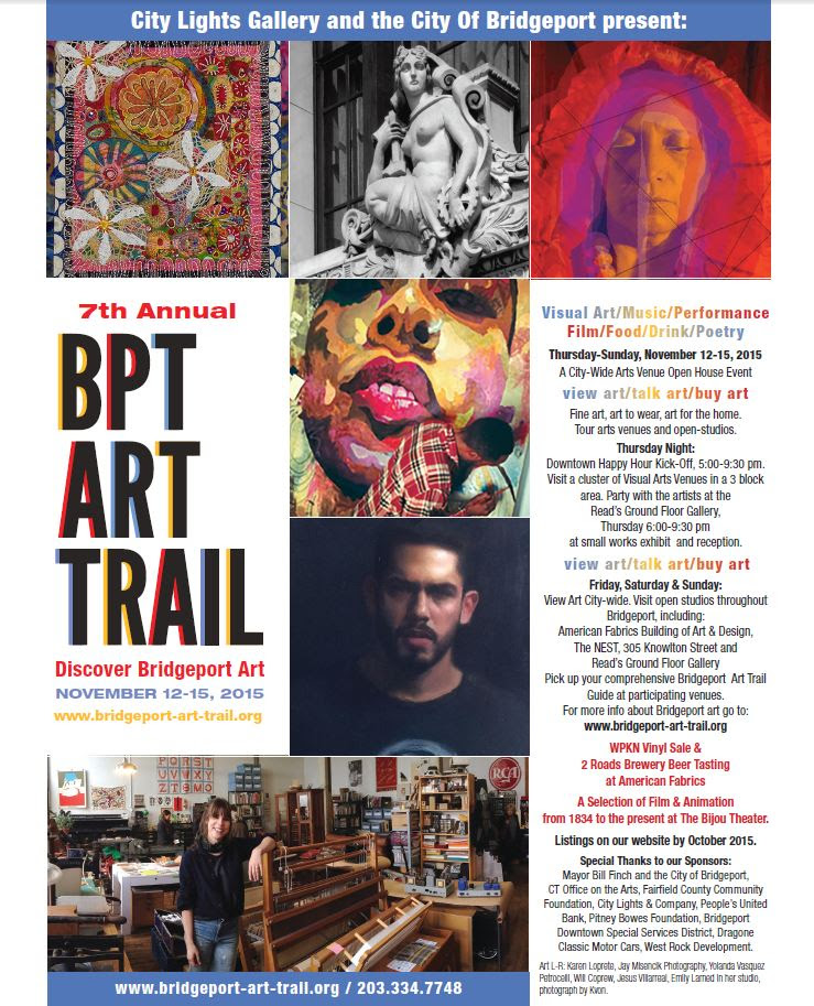Call for Artists Issued for Bpt Art Trail Artists' Party