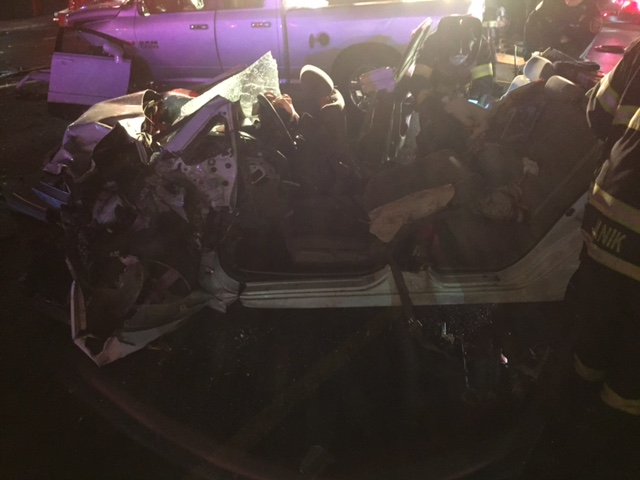 Firefighters Respond to Serious Car Accident on Kings Hwy Cutoff