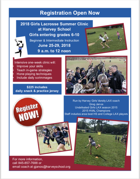 Summer Strategies To Improve Your >> Registration Open For Girls Summer Lacrosse At The Harvey School