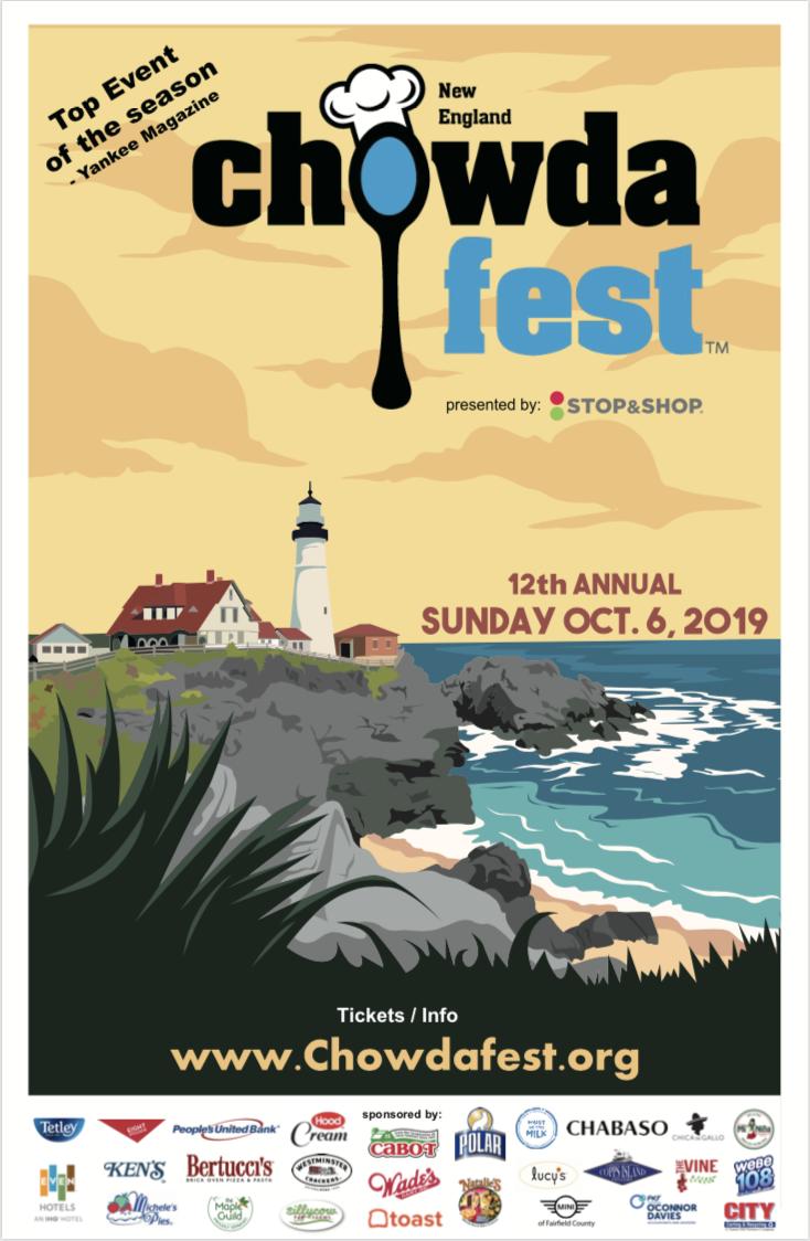 ChowdaFest Set for Oct  6