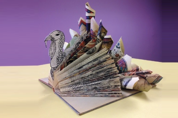 TURKEY Money Origami - Dollar Bill Animal Art | Money origami ... | 398x600
