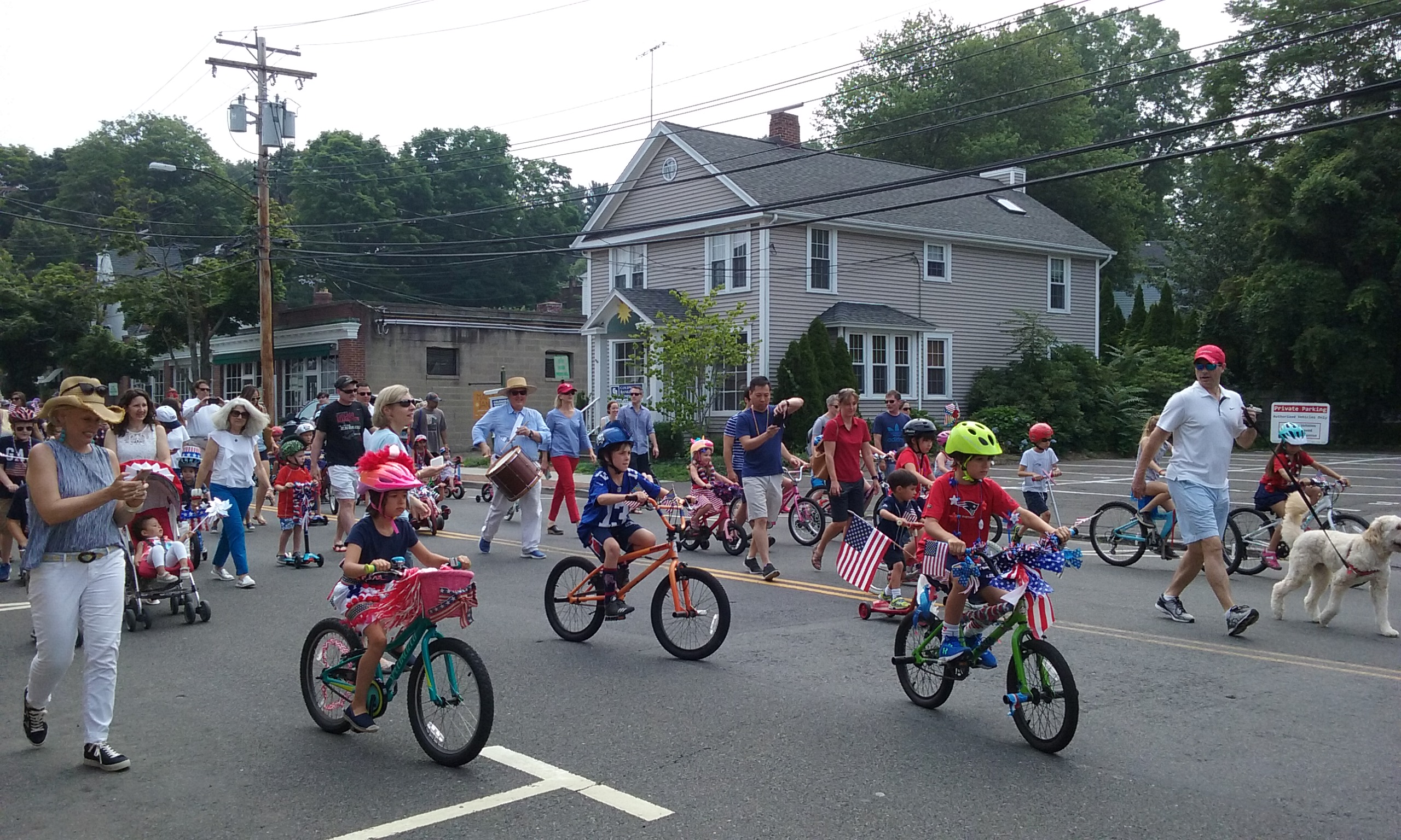 Celebrate July 4th At Pequot Library S Bike Parade 7 4