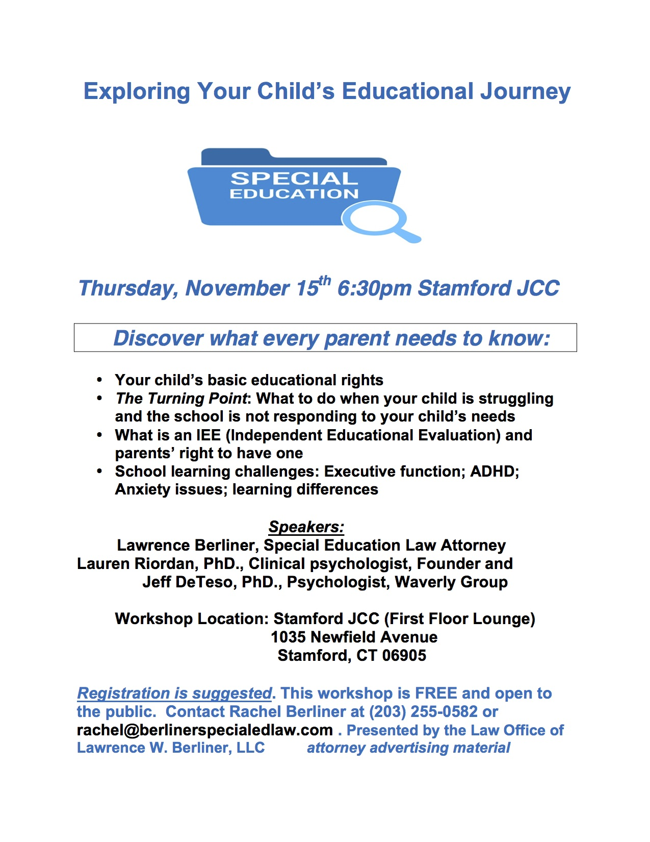 Parents Know Your Special Education >> Exploring Your Child S Educational Journey A Special Education
