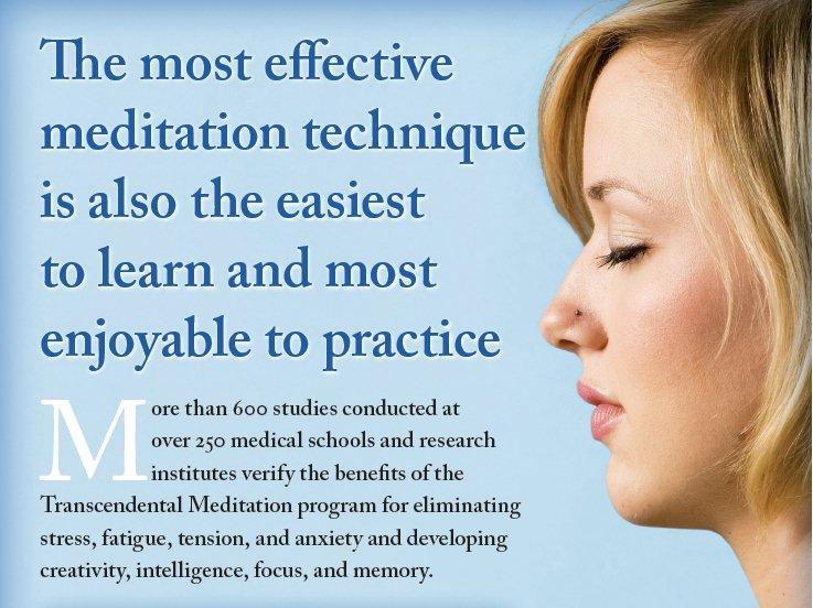 Transcendental Meditation technique