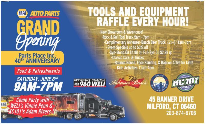 Milford Napa Auto Parts Celebrates 4 Decades Tomorrow!