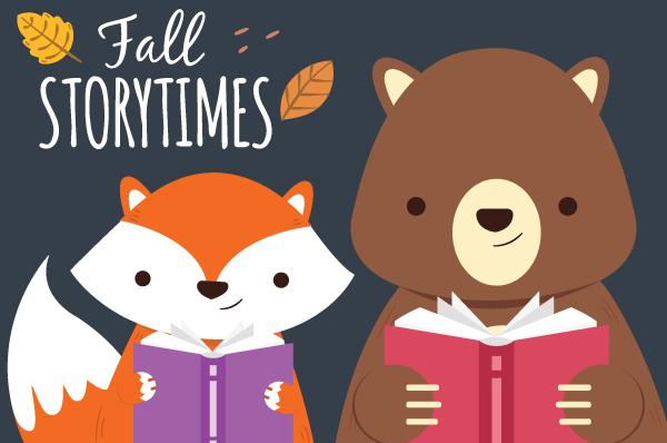 Fall Storytimes at Danbury Library
