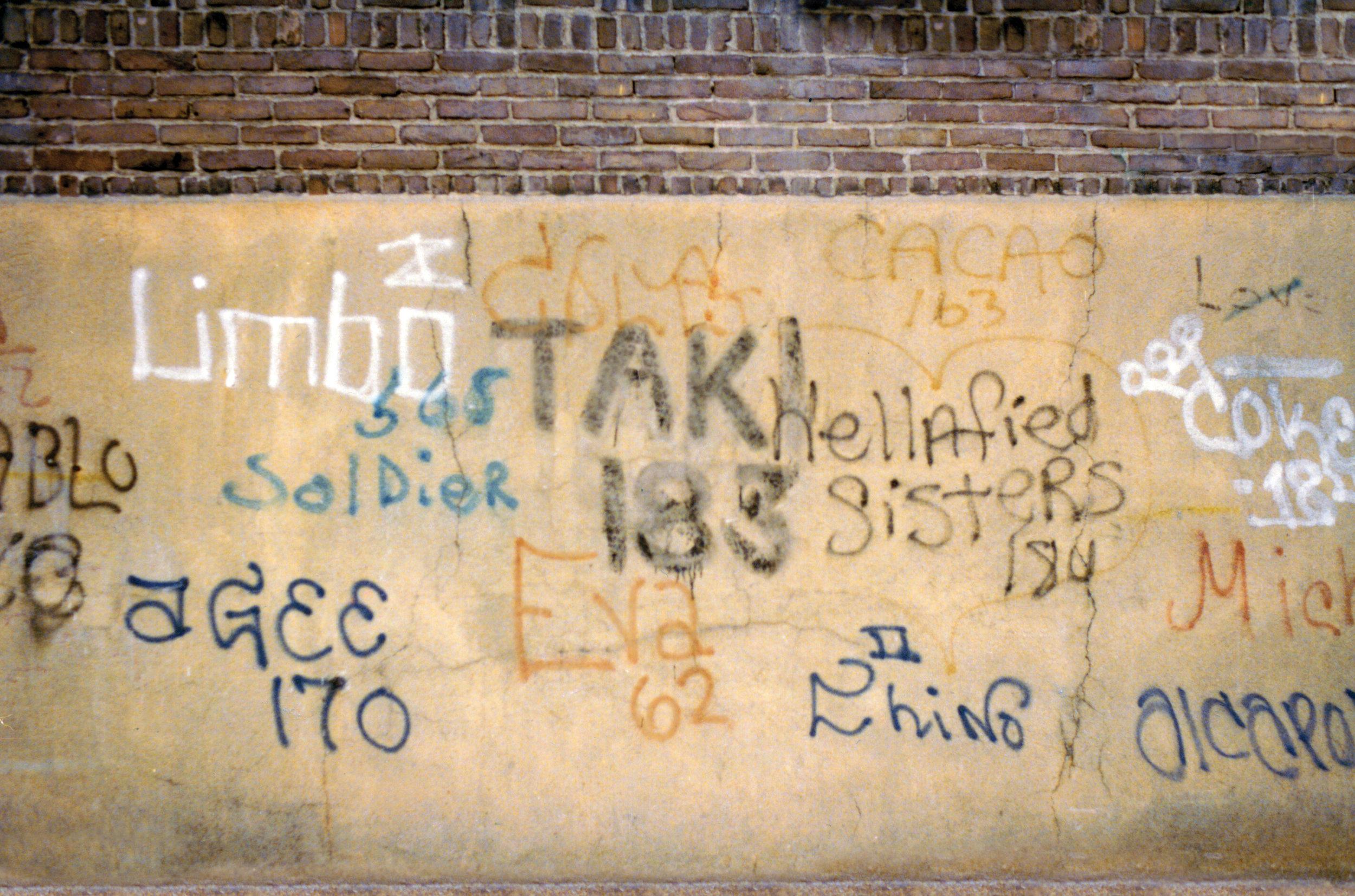 Famous Graffiti Artist Radio Interview