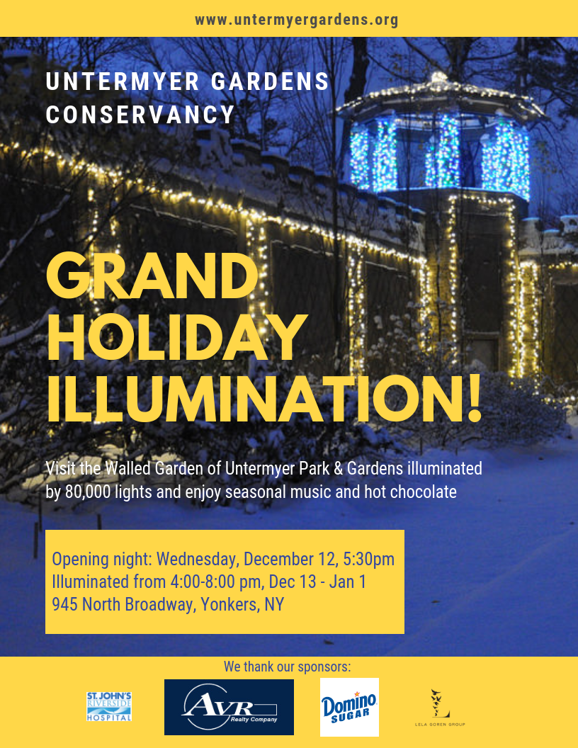 Special Yonkers Tree Lighting Ceremony
