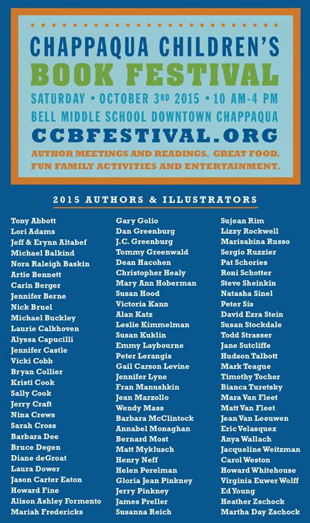 80 Authors At Chappaqua Childrens Book Festival