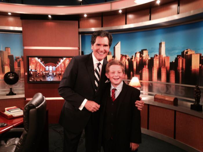 Grant Becker, Pleasantville Inventor Interviewed on Fox 5