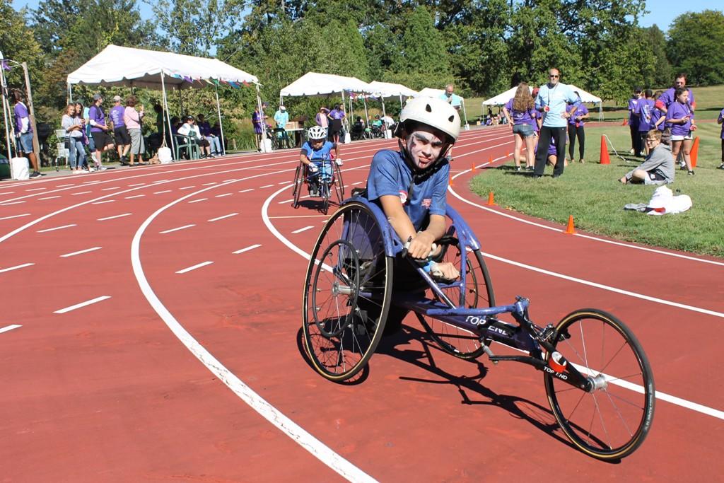 burke rehabilitation hospital presents wheelchair games