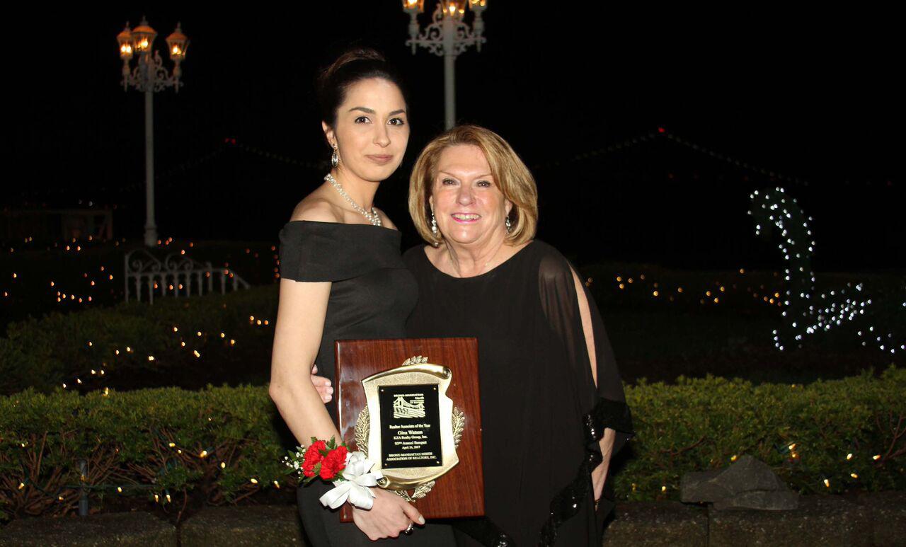 Gina Watson, Associate Broker and Kathy Zamechansky, President of KZA Realty Group.