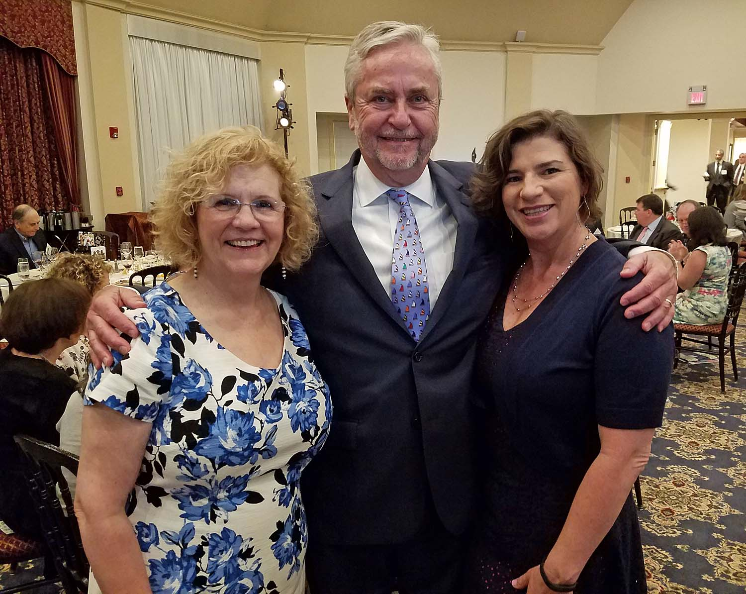 Betsy Steward, Director of Development of Westchester Children's Association, Douglas Gould, Westchester Children's Association board of directors' president (also President of Douglas Gould & Co.) and Jennifer Flowers, Founder and CEO, Accreditation Guru.