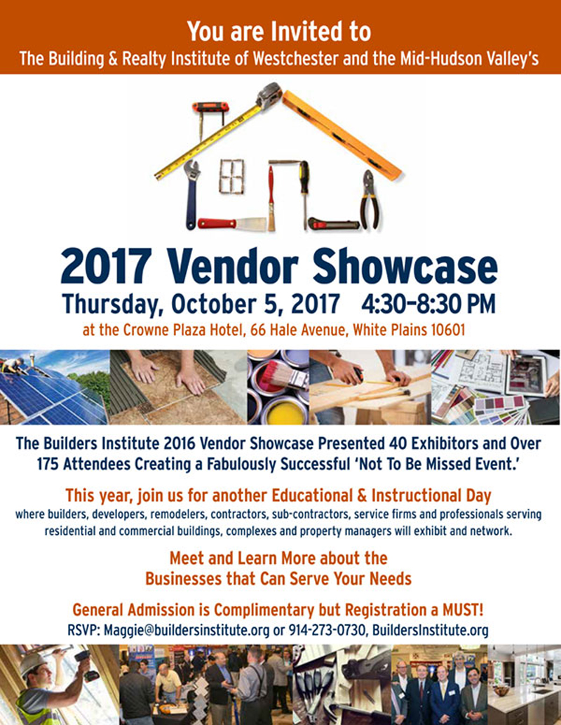 Building & Realty Institute 2017 Vendor Showcase