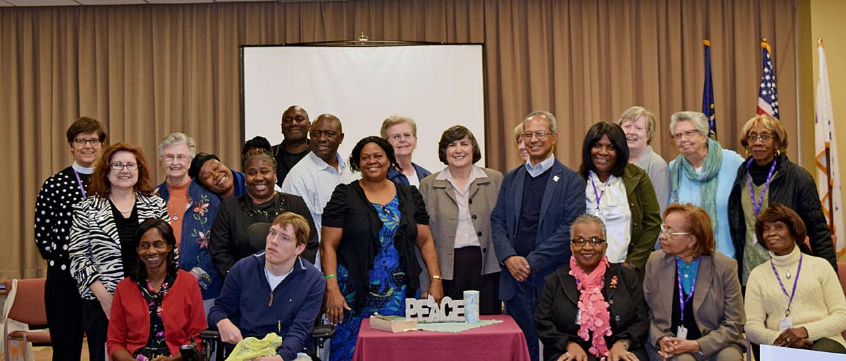 Left to right: Wartburg's Spiritual Care Visitor Skills-Based Training Program graduates.