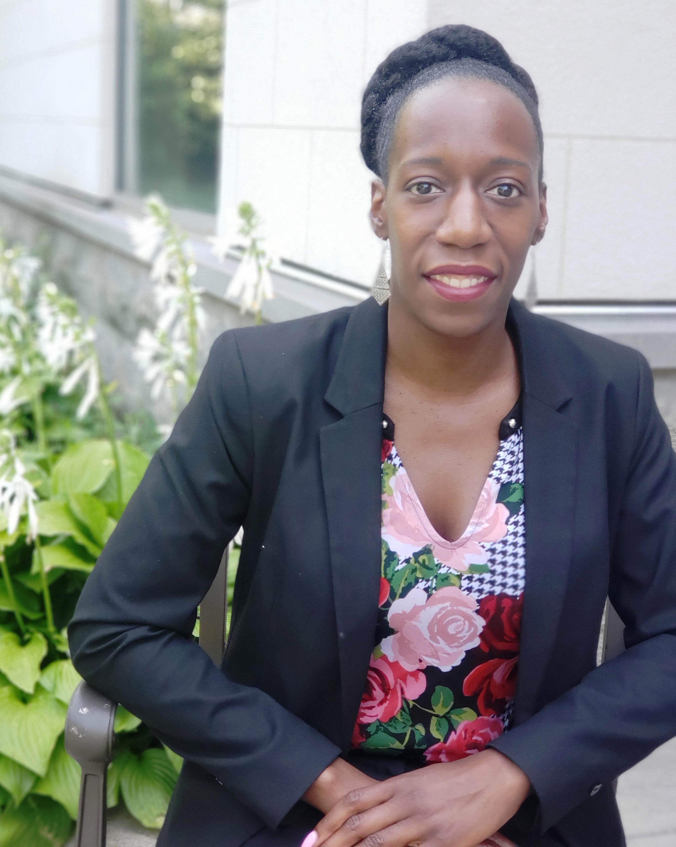 Jamilah Greenidge, Wartburg's Director of Admissions