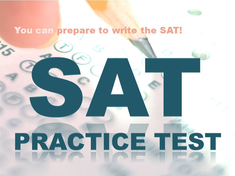 Free SAT Practice Test at the Mahopac Library