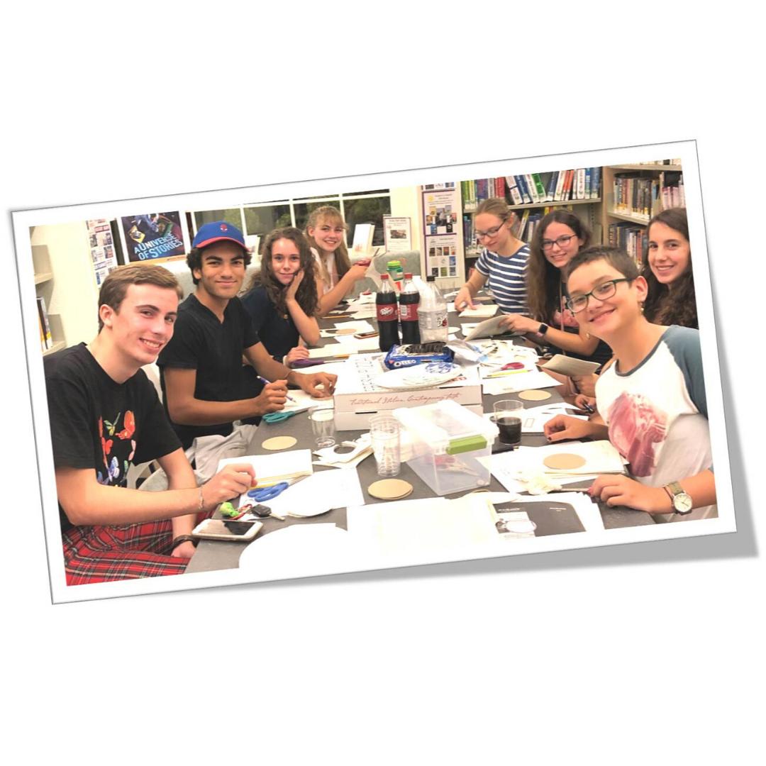 TAG group at library