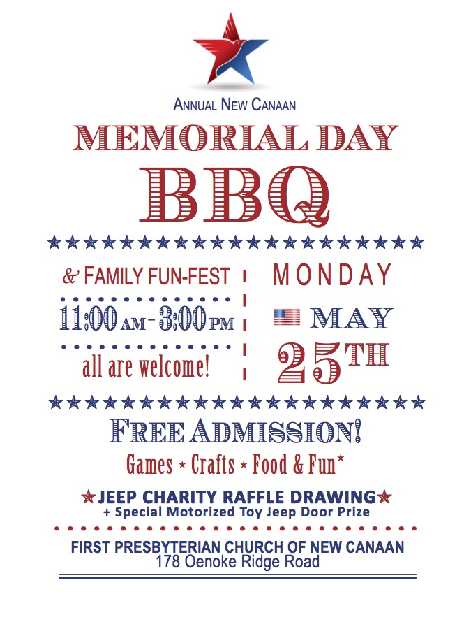memorial day barbecue and family fun fest at first presbyterian church