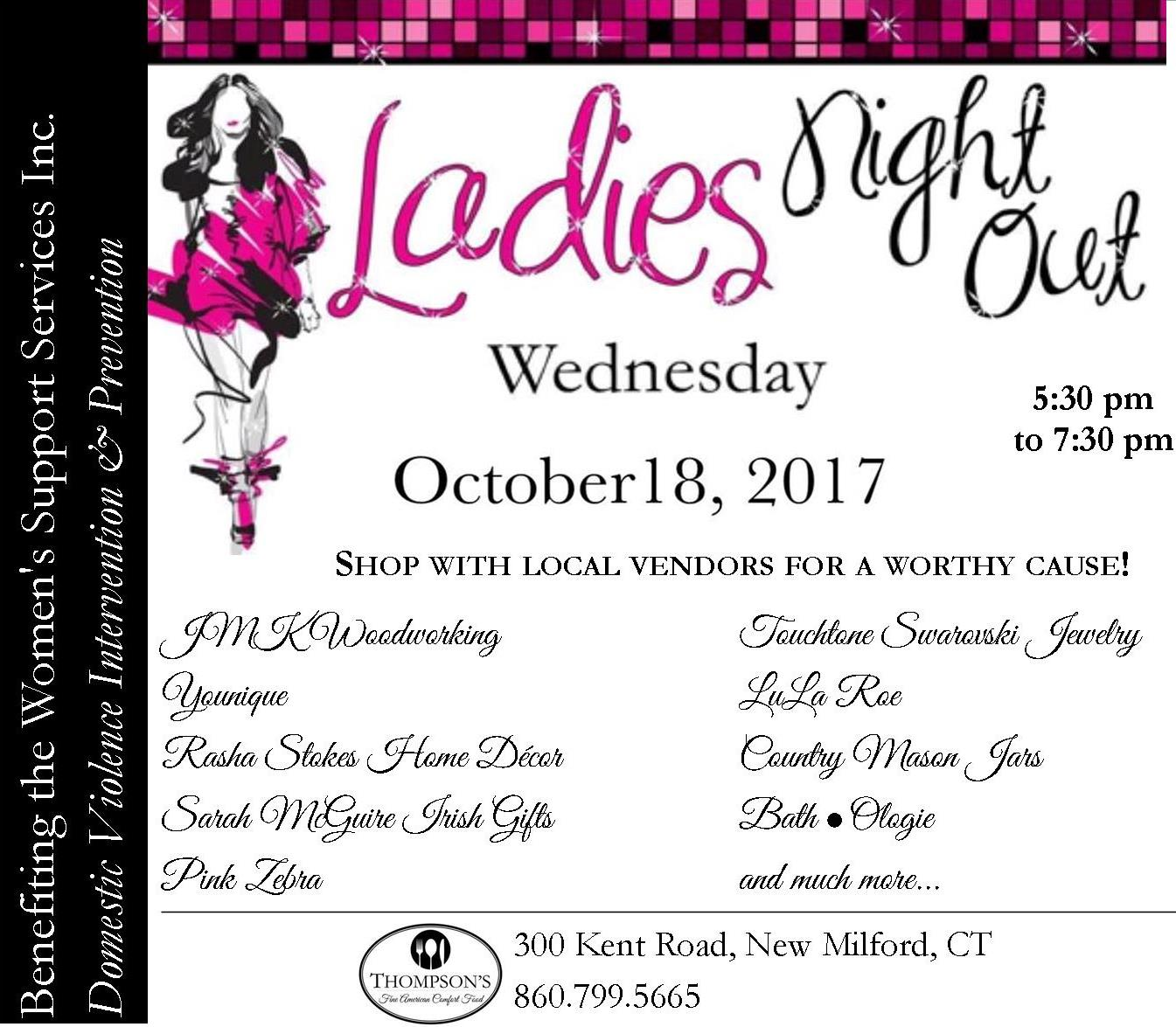 ladies night out at thompson s