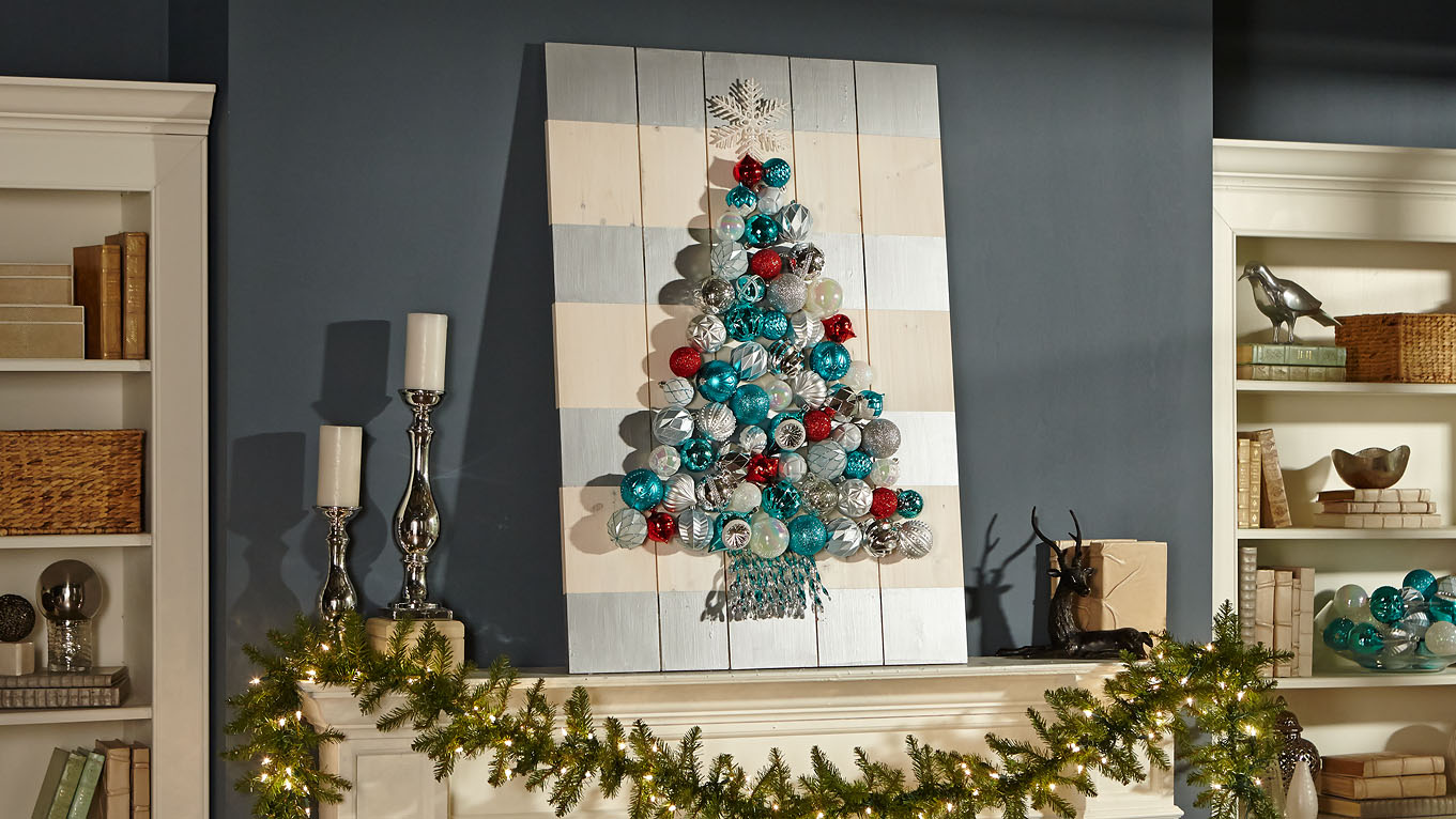 Christmas ornament holders - Photos Courtesy Of Home Depot