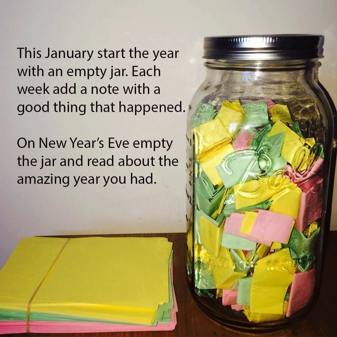 Diy Project For The New Year Memory Jar