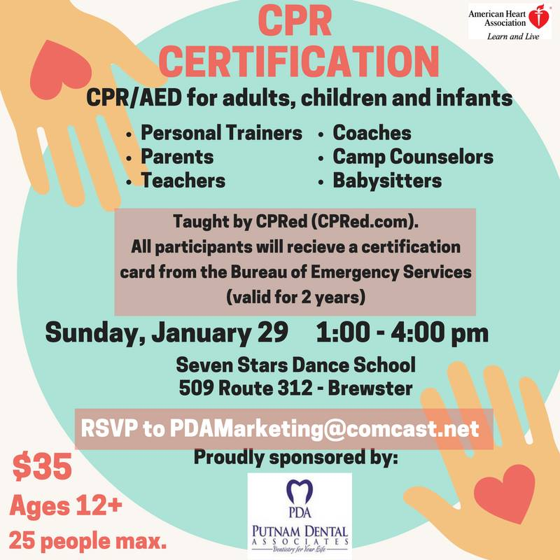 Discounted Cpraed Training And Certification In Brewster