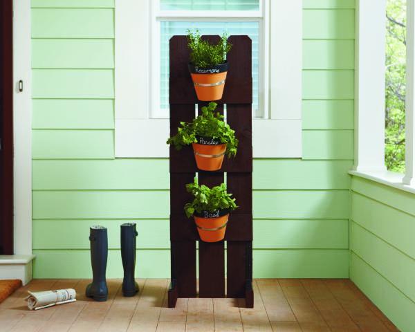 Do it Herself Workshop Vertical Herb Garden