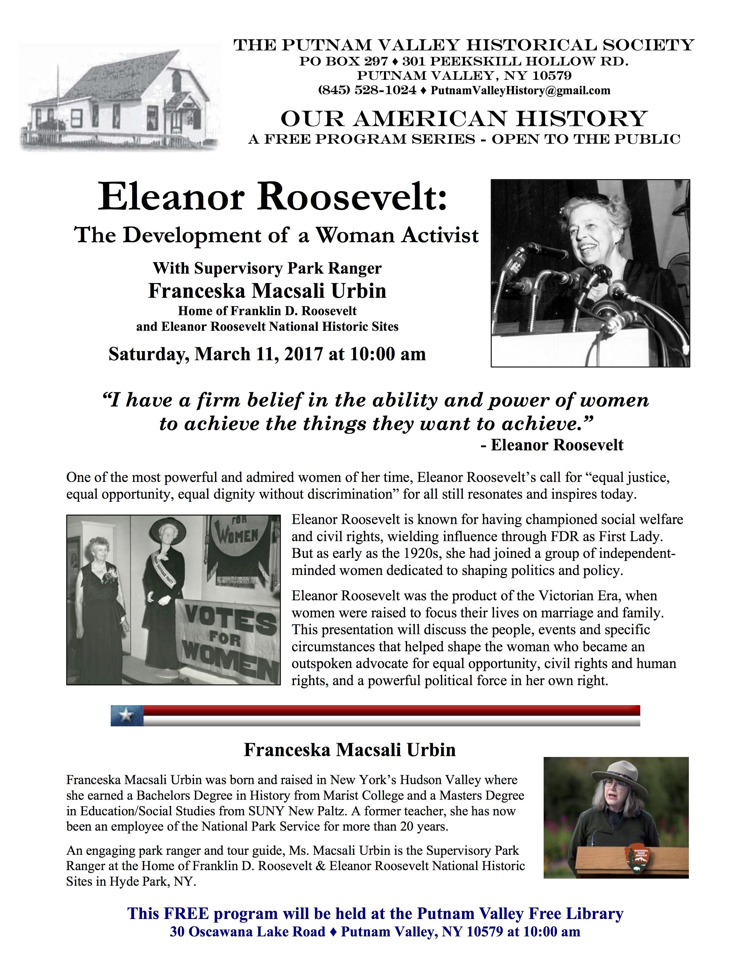 eleanor roosevelts life of dedication for america Franklin d roosevelt presidential library official program for dedication of the franklin d roosevelt on the life and times of franklin and eleanor.