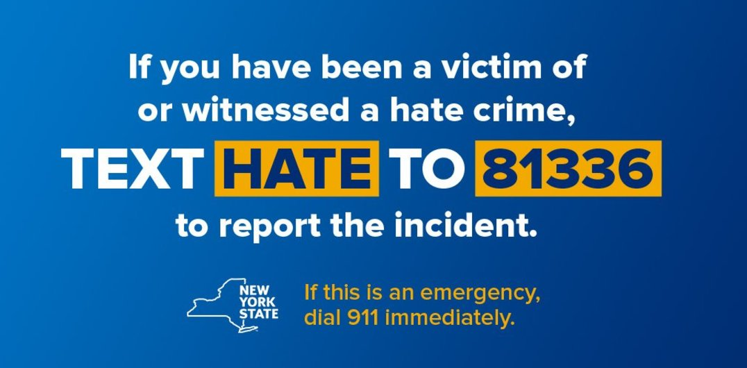 Image result for nys hate crime text