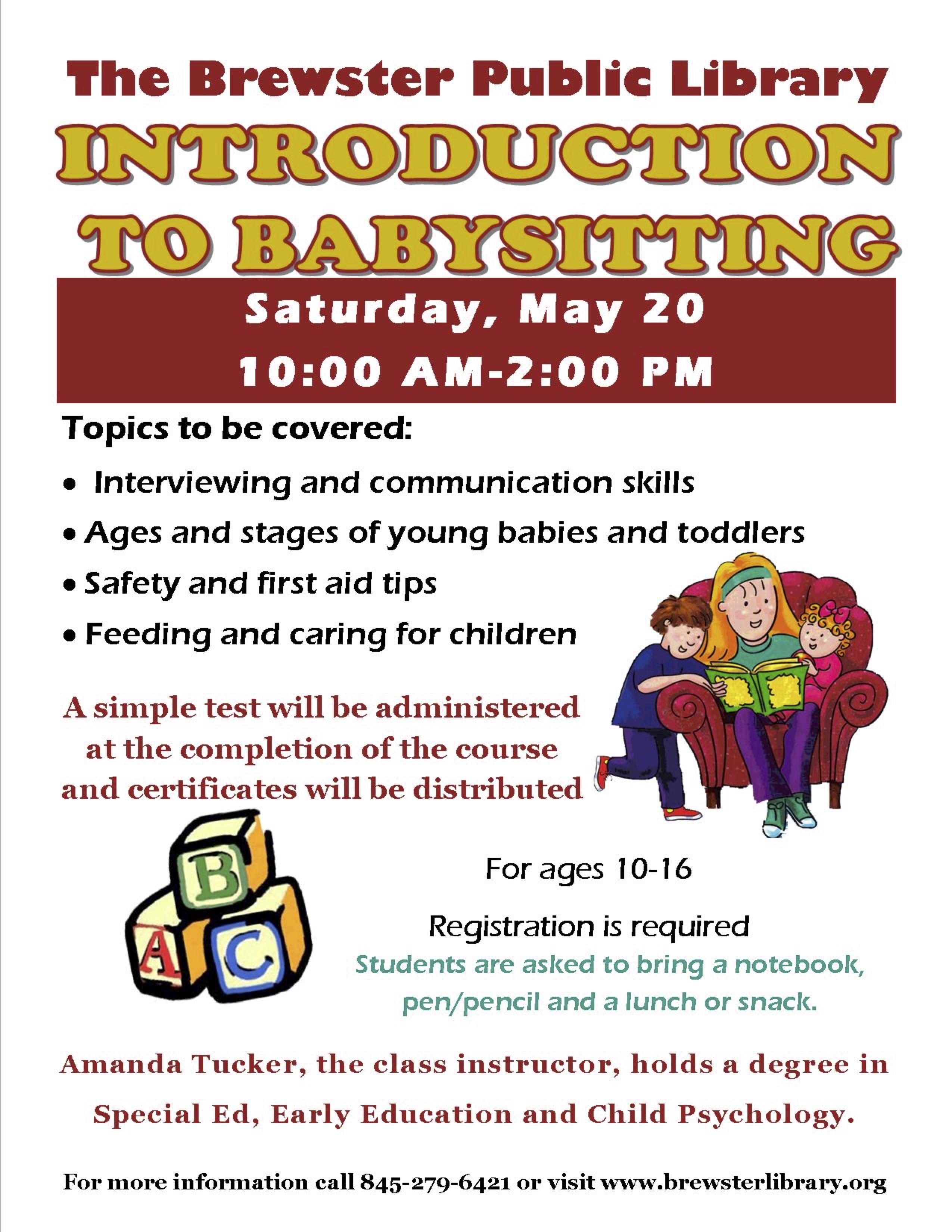 HamletHub  Babysitting Skills