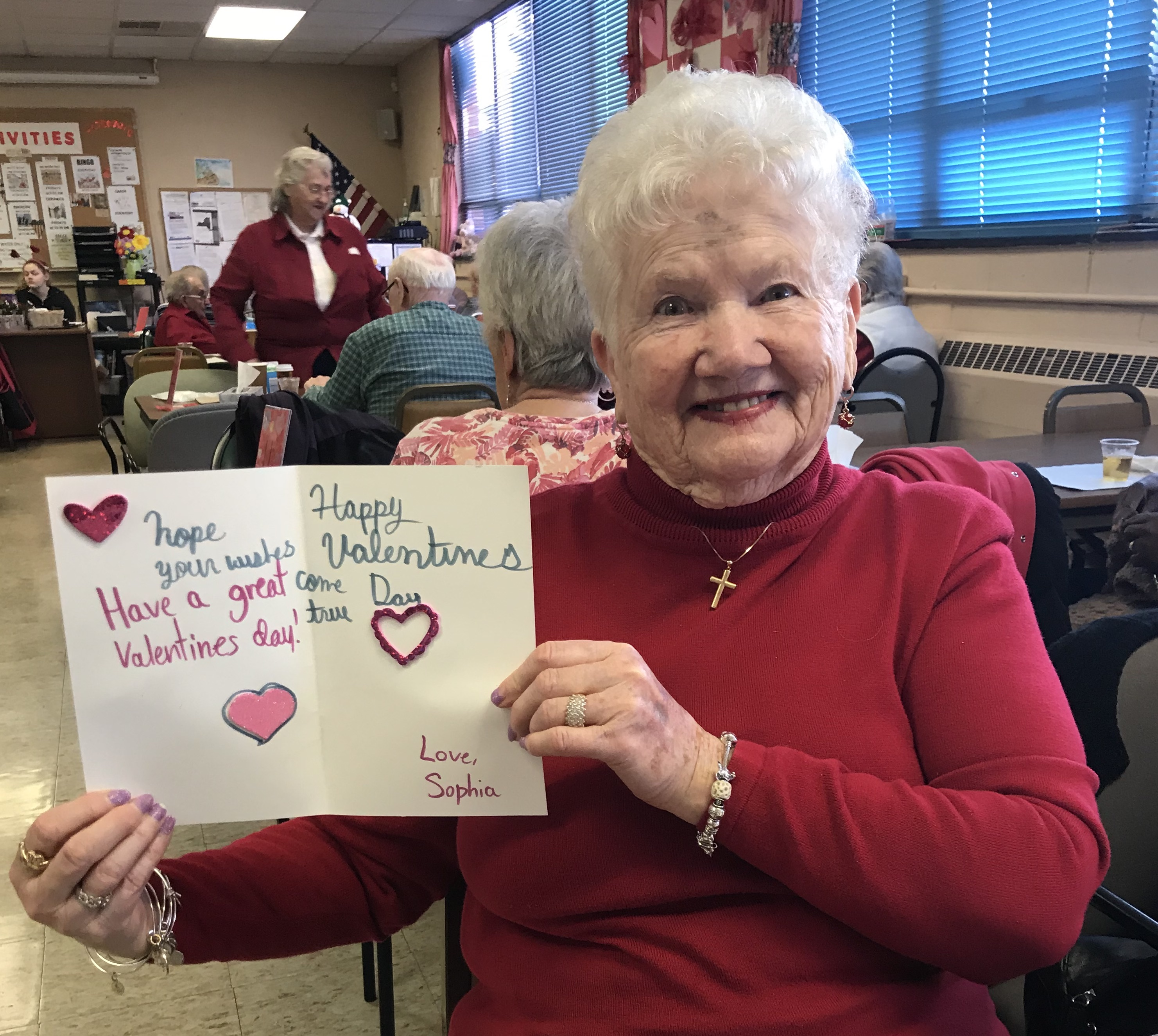 Local Seniors Receive Handmade Valentine S Day Cards From Seven Star School Students