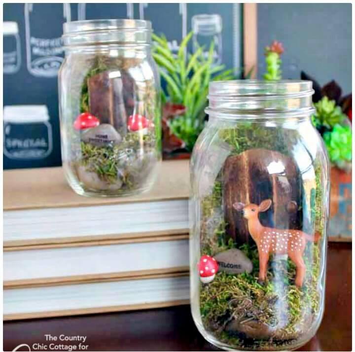 Make Your Own Mason Jar Terrarium