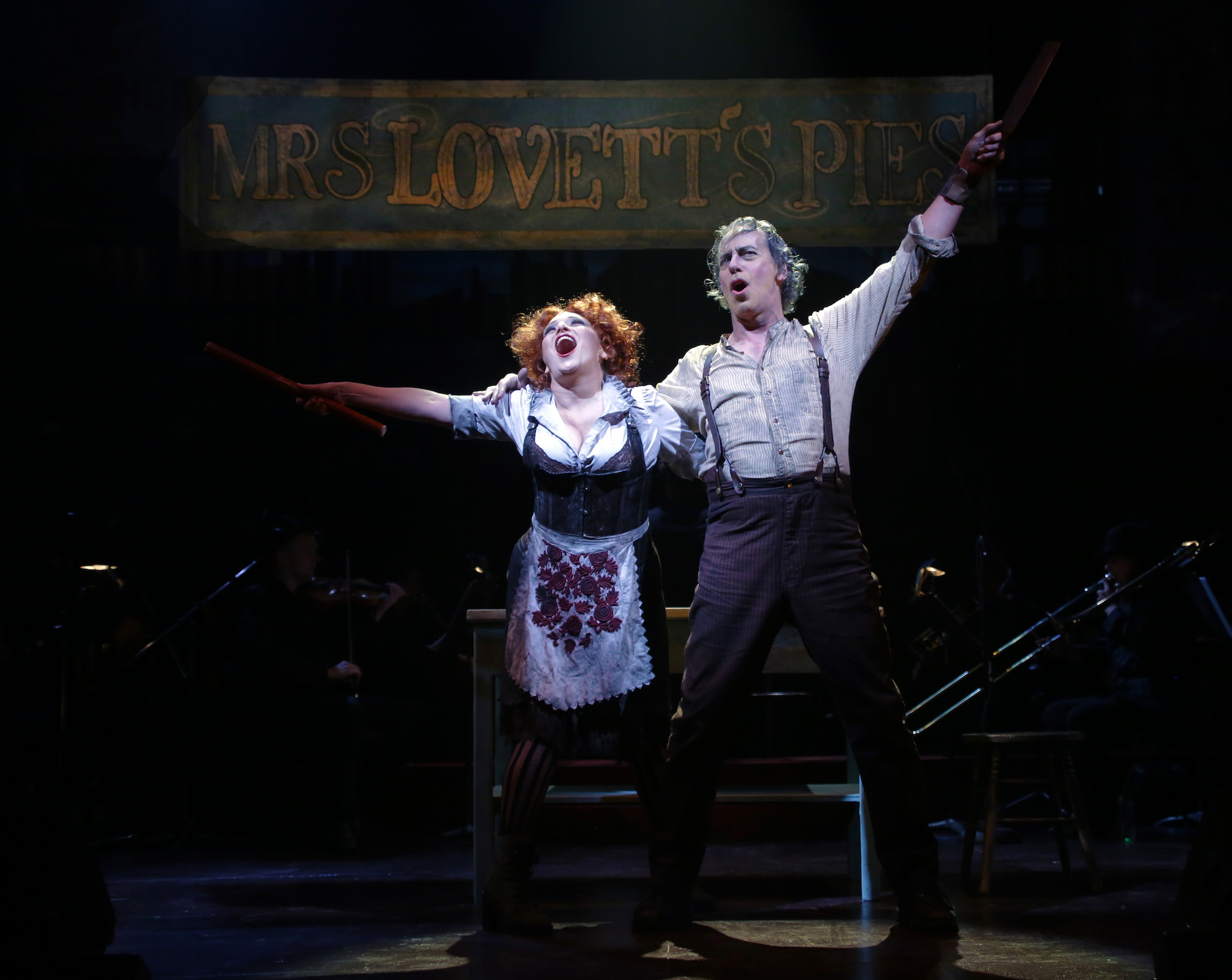 Books By Terrence Mann >> Terrence Mann And Liz Larsen In Sweeney Todd At Ct Rep